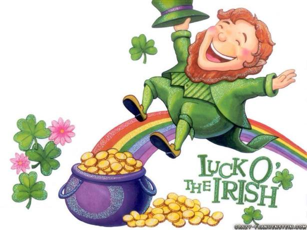 Happy St. Patrick's Day from Dirty Work!