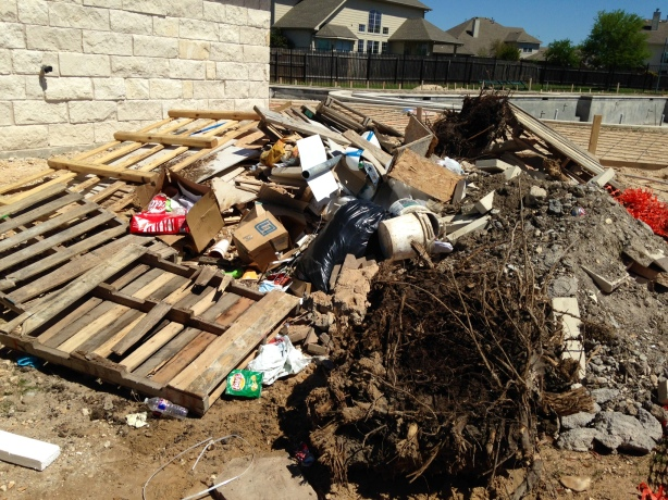 Before Our Austin Trash Removal Services...