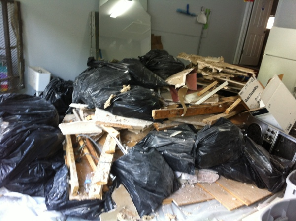 One of Our Austin Trash Removal Jobs...