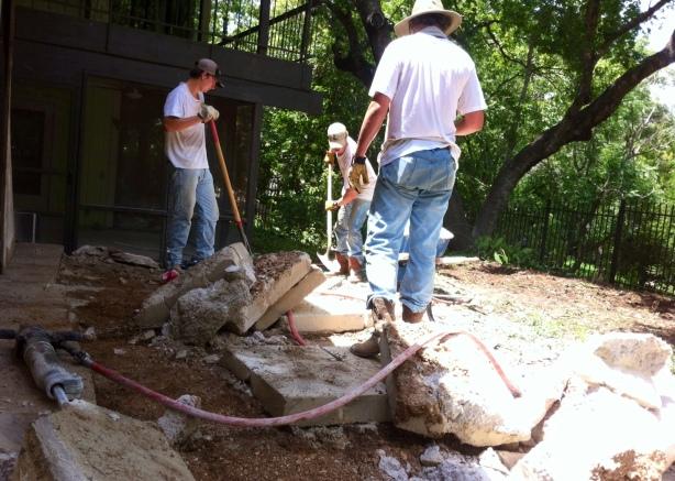 Austinn demolition